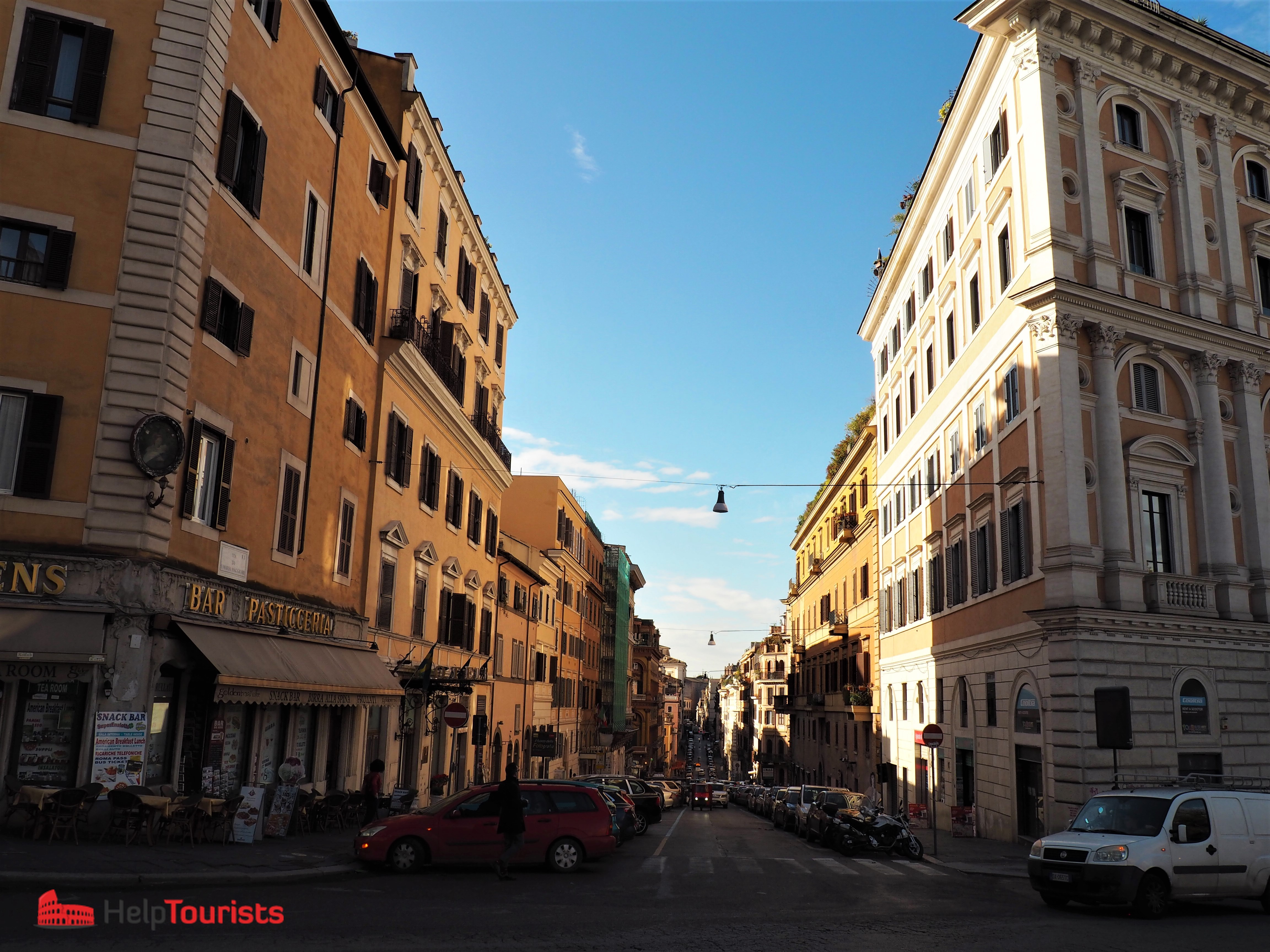 Rome 7 hills Esquilin