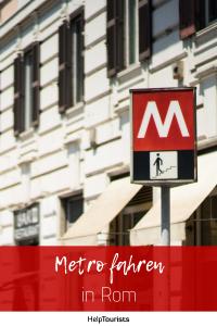 Pin Metro fahren