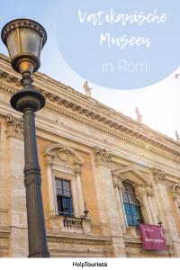 Pin Vatikanische Museen