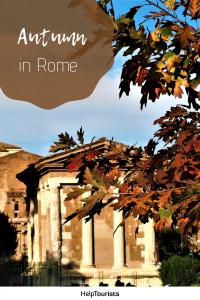 Pin Autumn in Rome
