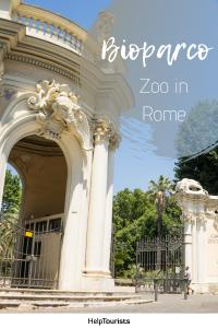 Pin Bioparco Zoo in Rome