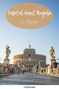 Pin Castel Sant'Angelo in Rome