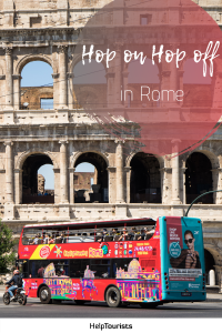 Pin Hop on Hop off in Rome