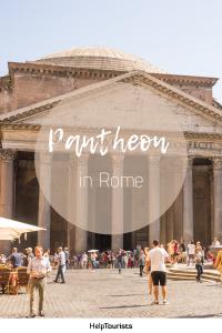 Pin Pantheon in Rome