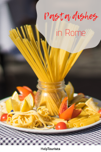 Pin Pasta dishes in Rome