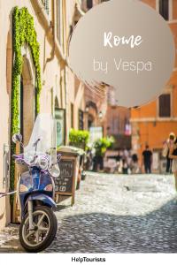 Pin Rome by Vespa
