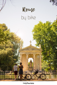 Pin Rome by bike