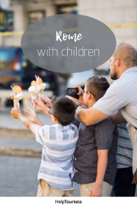 Pin Rome with children
