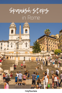 Pin Spanish steps in Rome