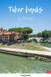 Pin Tiber banks in Rome