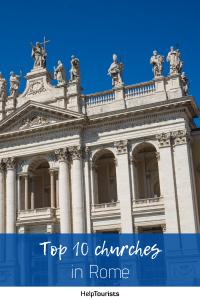 Pin Top 10 churches in Rome