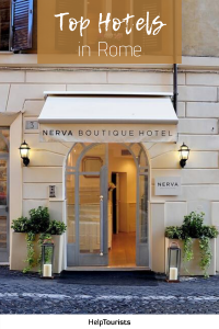 Pin Top Hotels in Rome