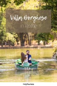 Pin Villa Borghese in Rome